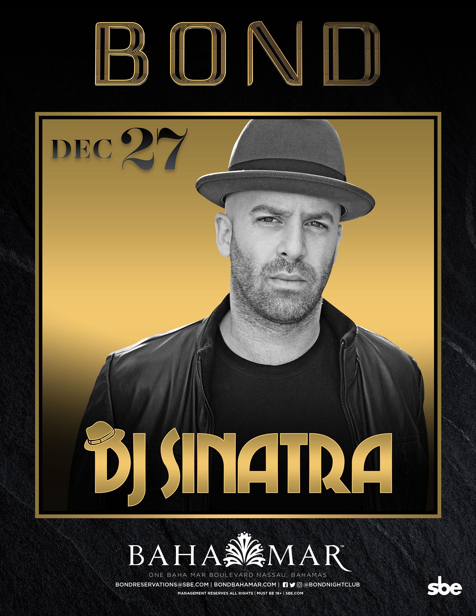 Bond DJ Sinatra