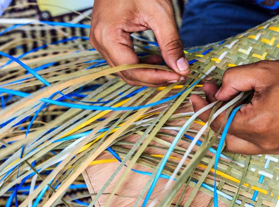 巴哈马文化 - 稻草工艺